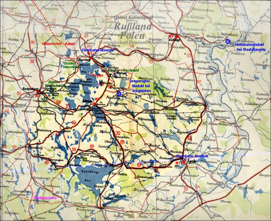Deutsche Karte Vor Dem 1 Weltkrieg.Polen Masuren Geschichte